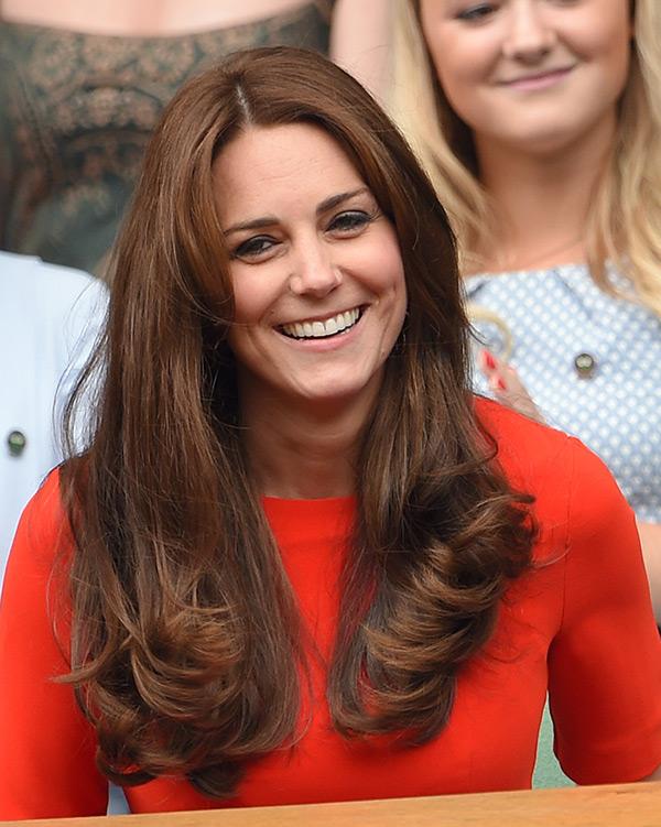 Kate Middleton Hair Wimbledon