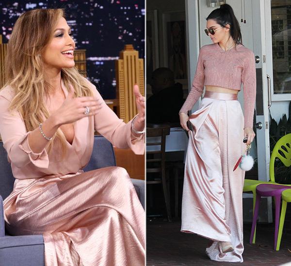 Kendall Jenner Pink Pants