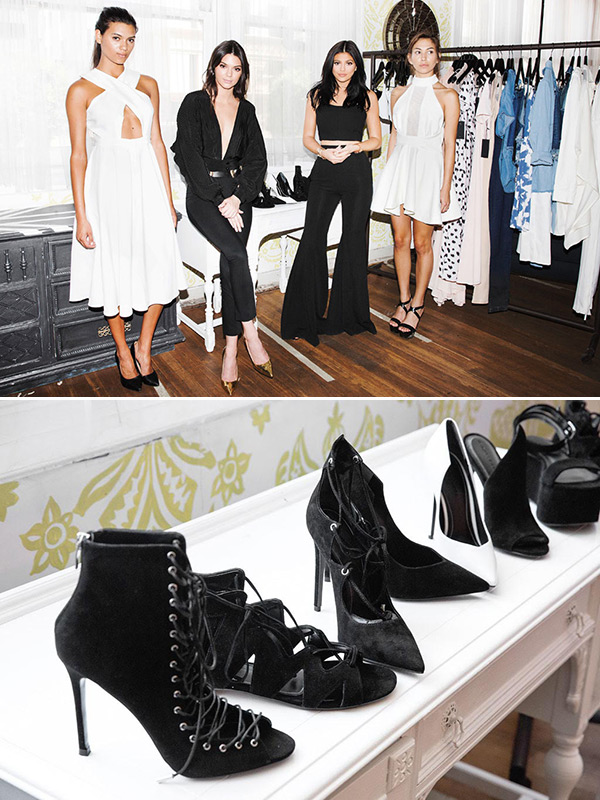 Kendall Kylie Jenner Shoe Collection