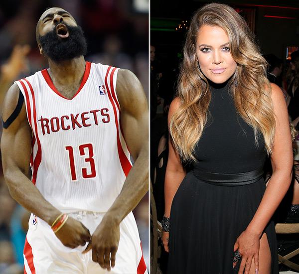 Khloe Kardashian Loves James Harden Heart Body