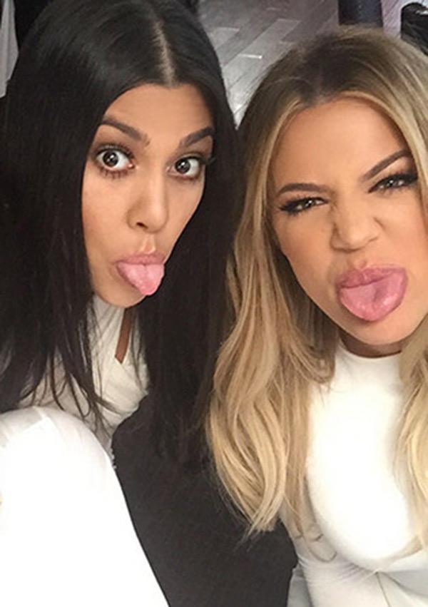 Khloe Kourtney Kardashian Bust