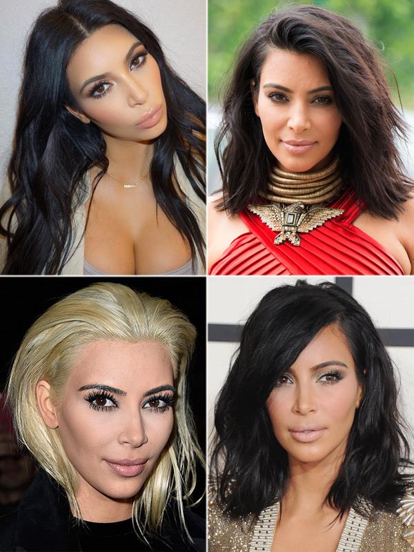 Kim Kardashian Best Short Hair