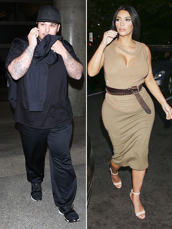 Rob Kardashian Smokes Weed