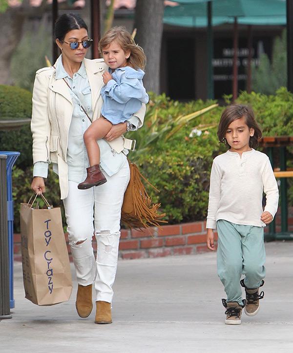 Kourtney Kardashian Scott Disick Parenting