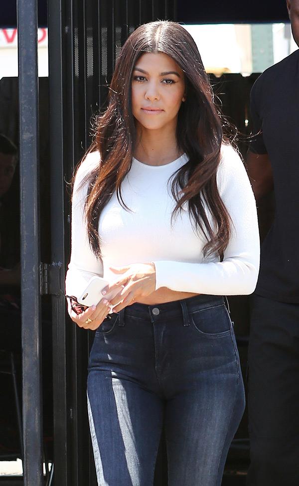 Kourtney Kardashian Sexy Outfit