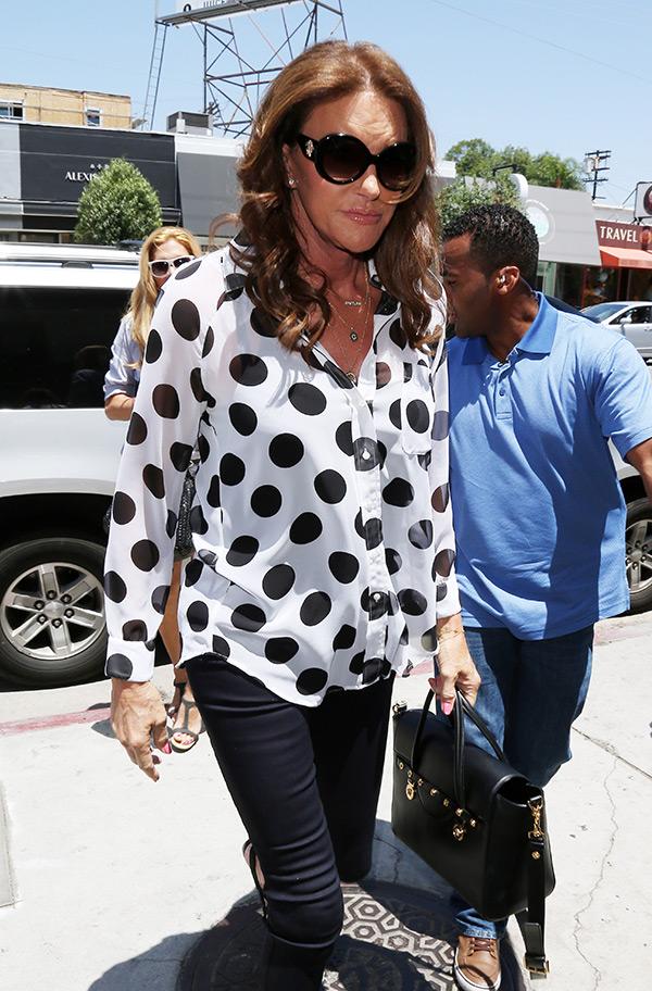 Kris Jenner Meets Caitlyn Jenner