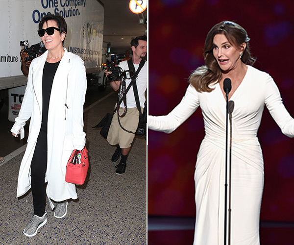 Kris Jenner Meeting Caitlyn Jenner