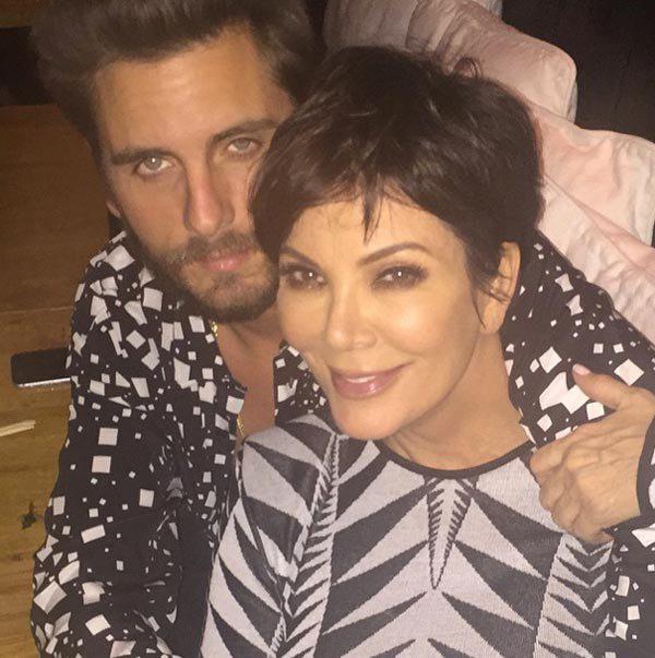 Kris Jenner Scott Disick Rehab