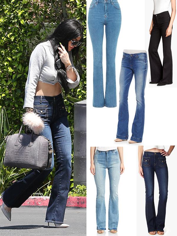 Kylie Jenner Flare Jeans