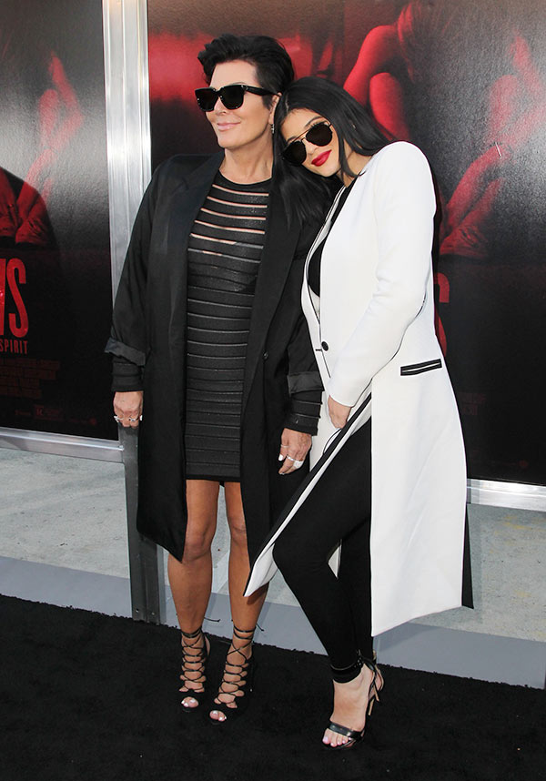 Kris Jenner Supports Kylie Jenner