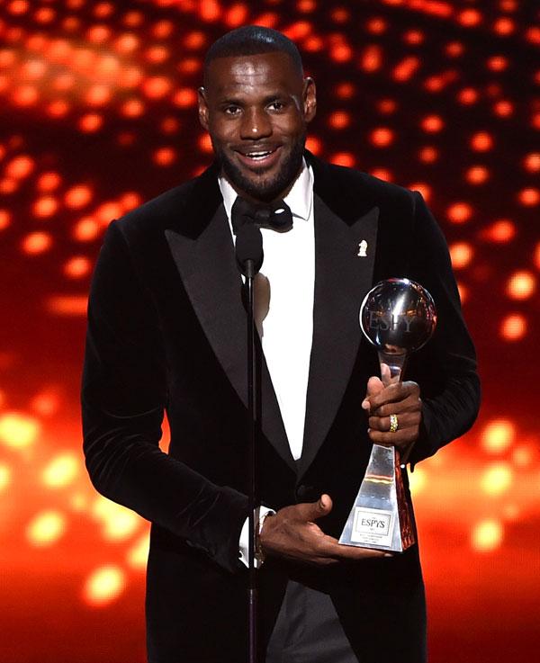 LeBron James ESPYS Award