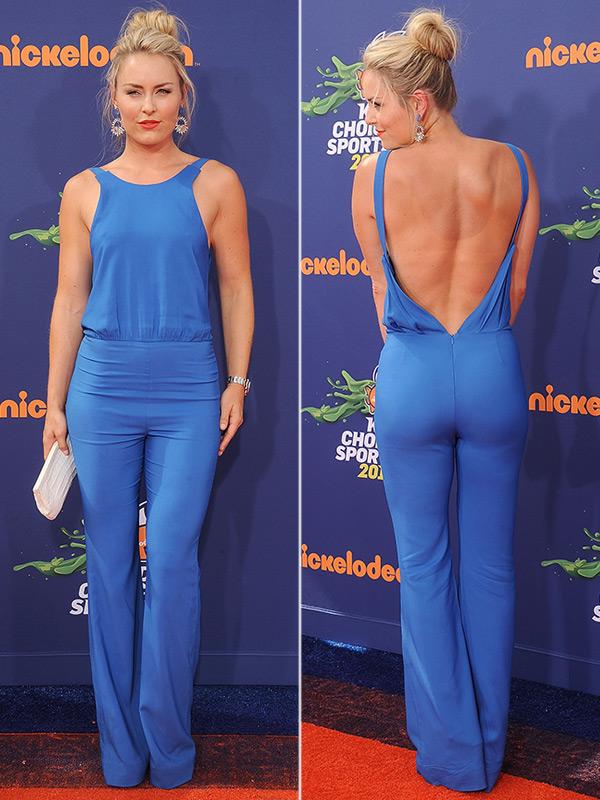 Lindsey Vonn Blue Jumpsuit