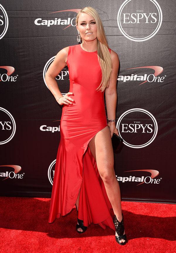 Lindsey Vonn's Dress ESPYS