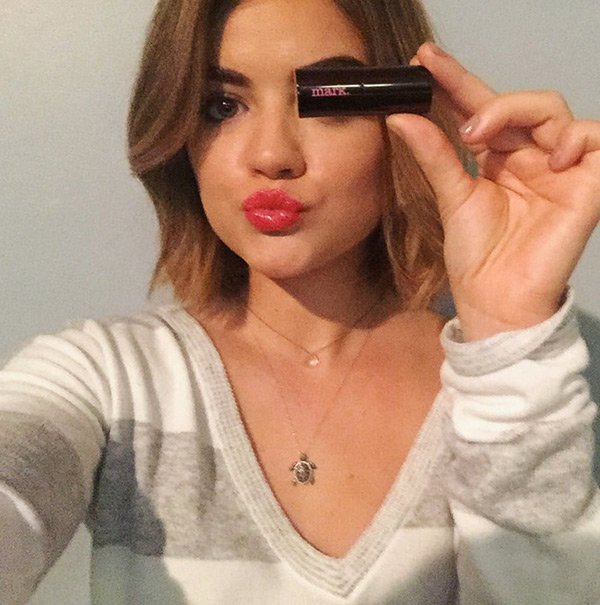Lucy Hale Favorite Lipstick