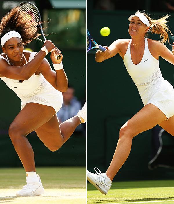 Watch Serena Williams Maria Sharapova Wimbledon 2015