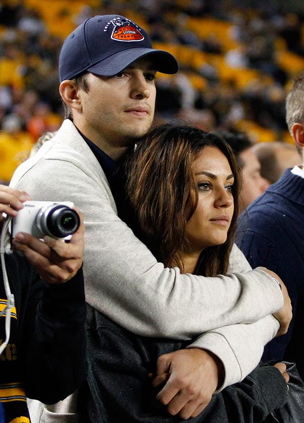 Ashton Kutcher Mila Kunis Married
