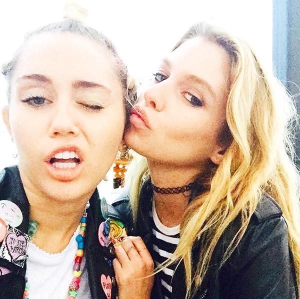 Miley Cyrus Relationship Stella Maxwell