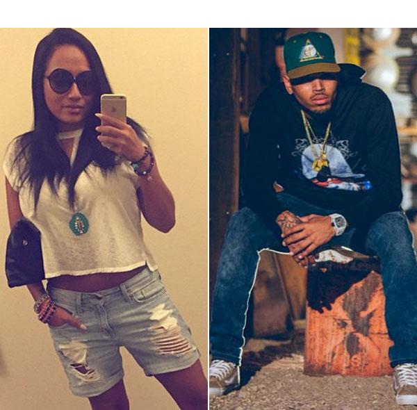 Nia Guzman Chris Brown Robbery