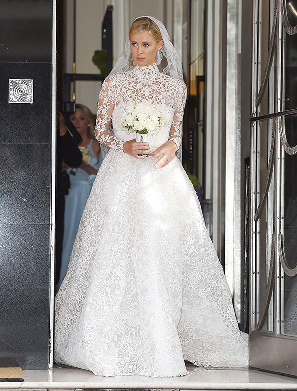 Nicky Hilton Wedding Dress