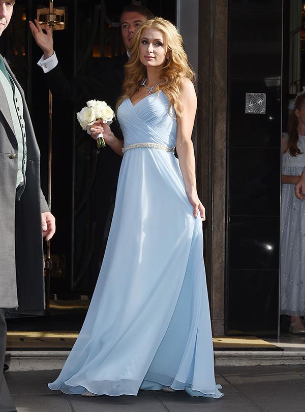 Paris Hilton Dress Nicky Hilton Wedding