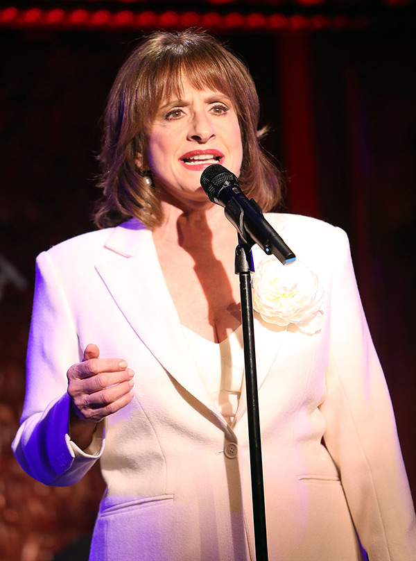 patti lupone takes cell phone