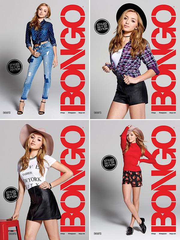 Peyton List Bongo Campaign