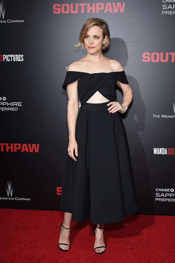 Rachel McAdams Cutout Dress