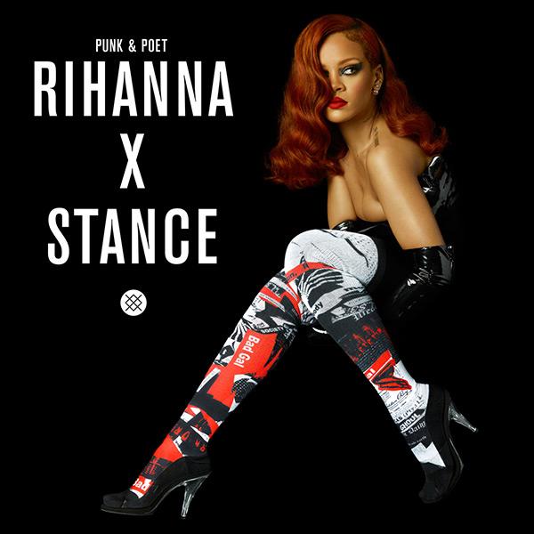 Rihanna Stance Socks