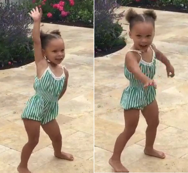 Riley Curry Dancing Video
