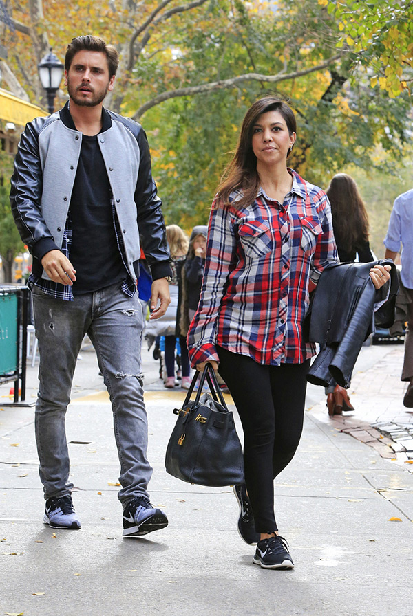 Kris Jenner Scott Disick Kourtney Kardashian Split