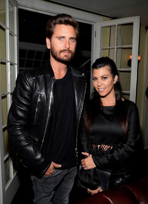 Kourtney Kardashian Scott Disick Back Together