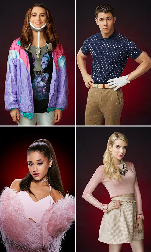 scream queens season 1 character posters