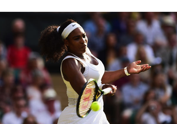 Serena Williams Beats Heather Watson
