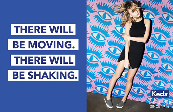 taylor swift keds campaign