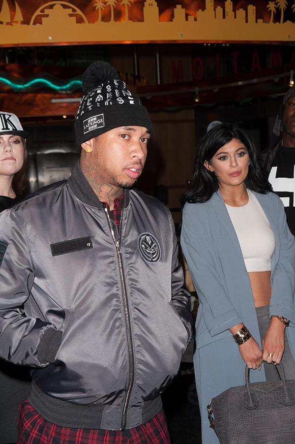 Tyga Khloe Kardashian Supports Kylie Jenner