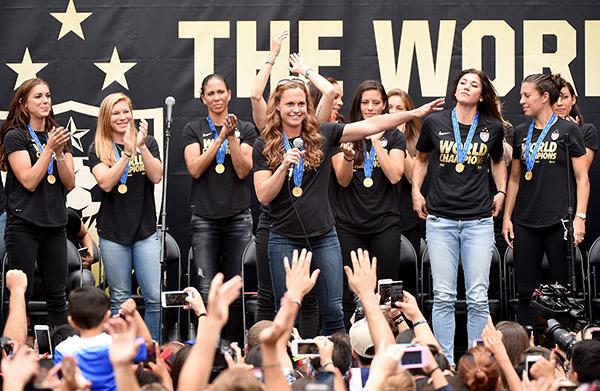 USA Women's Soccer Parade