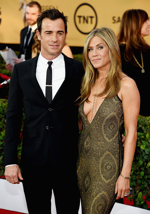 Brad Pitt Jennifer Aniston Justin Theroux Marriage