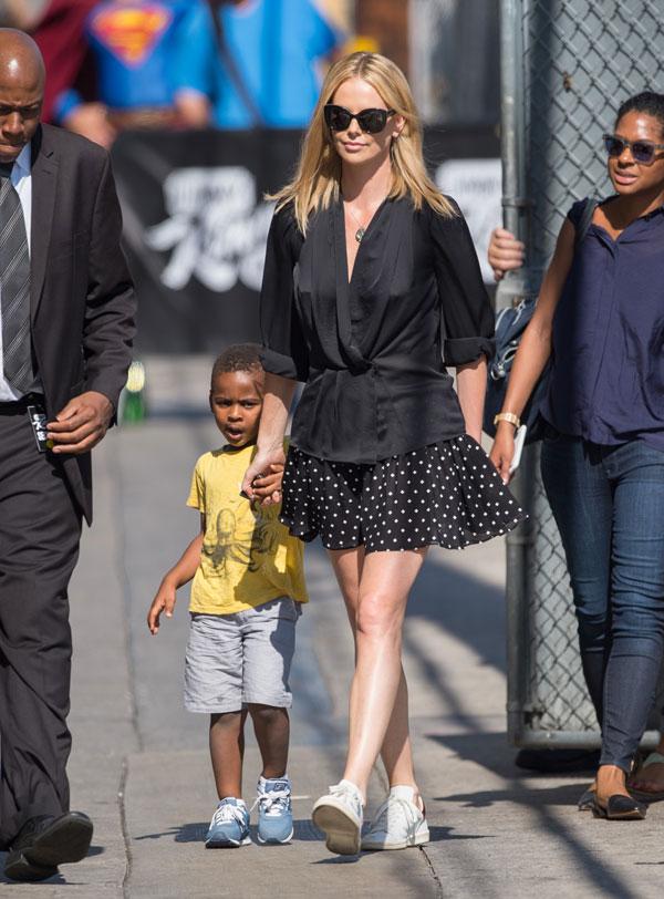 Charlize Theron Adopts Baby Girl