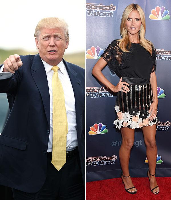 Donald Trump Disses Heidi Klum