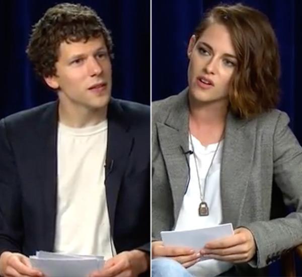 Kristen Stewart Pranks Jesse Eisenberg