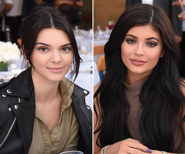 Kendall Jenner Kylie Jenner Haute Living Event