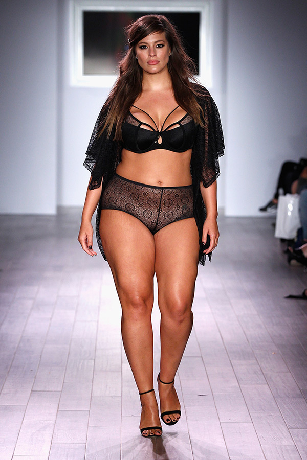 ashley graham fashion show