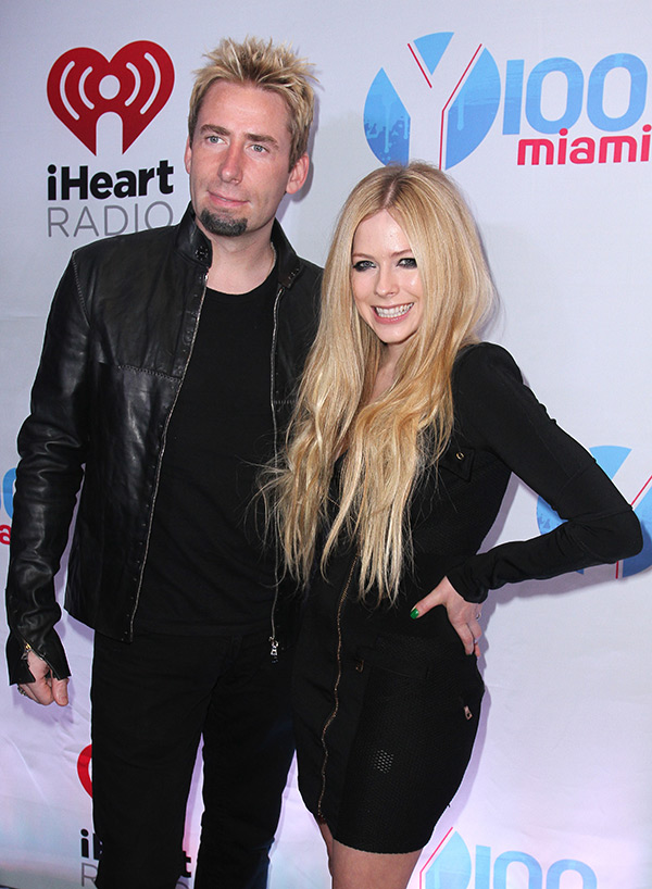 Chad Kroeger Avril Lavigne Split