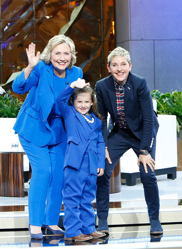 Hillary Clinton Mini-Me