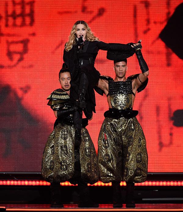 Madonna Demands Dancer