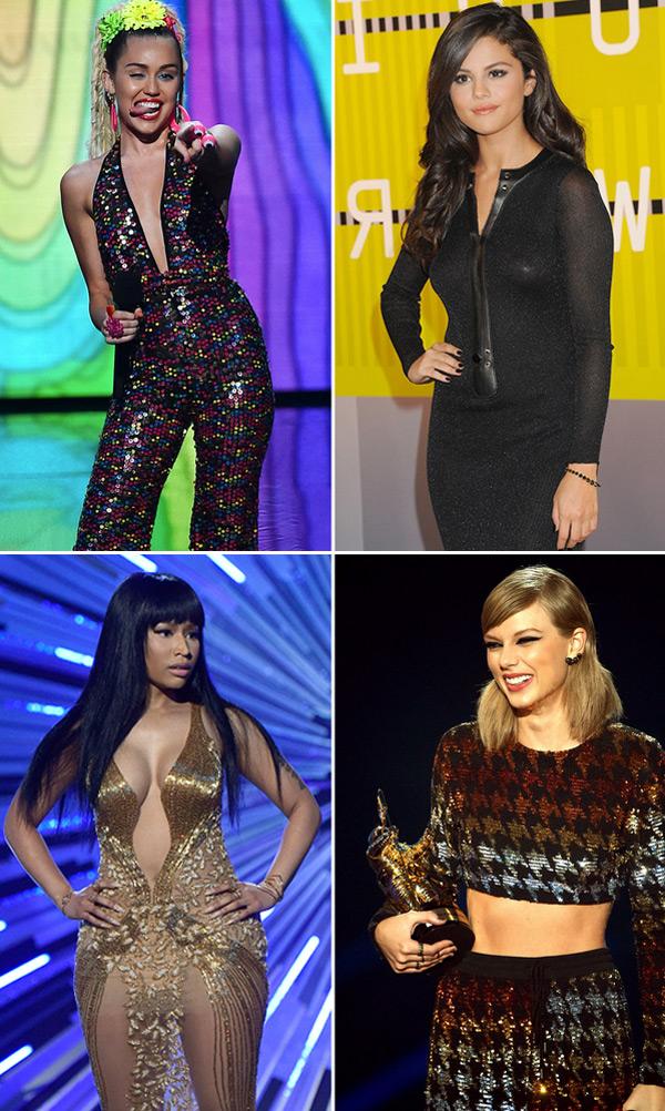 Nicki Minaj Miley Cyrus Celebrity Feuds