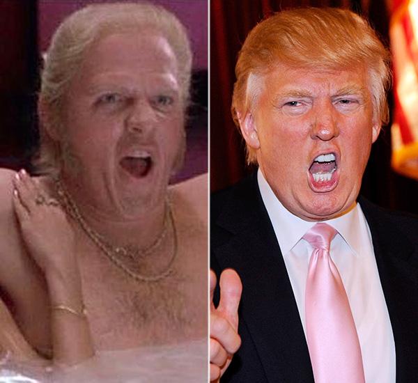 Biff Tannen Donald Trump