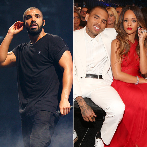 Drake Chris Brown Rihanna Are Soul Mates Drizzy Wants Them Back Together Hollywood Life
