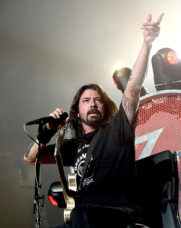 Foo Fighters Countdown Clock