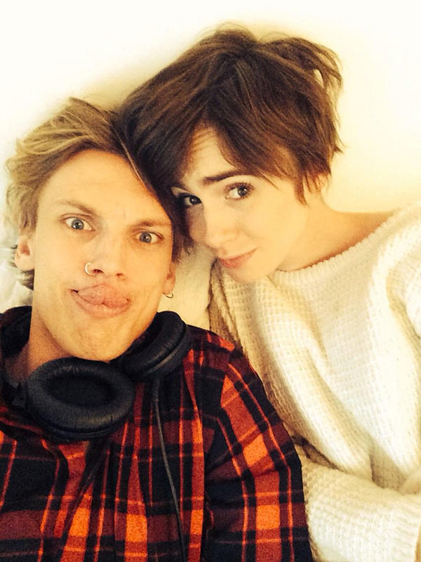 Jamie Campbell Lily Collins Break Up